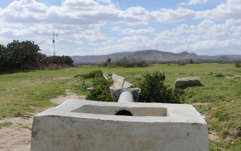 TN – Ruined gravity irrigation canal in the Merguellil catchment