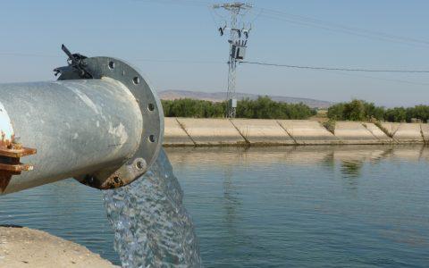 TN - Water tank for irrigation in the Kairouan plain