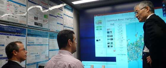 Na Universidade de Tóquio, pesquisadores da Funceme tiveram acesso ao sistema integrado de previsão (FOTO: ASCOM/Funceme)