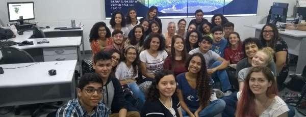 Estudantes de várias cidades participam de visitas à Funceme (Foto: Arquivo)