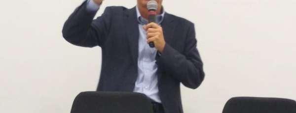 Eduardo Sávio Martins aborda ações da Funceme em seminário na Bahia (FOTO: Reprodução)