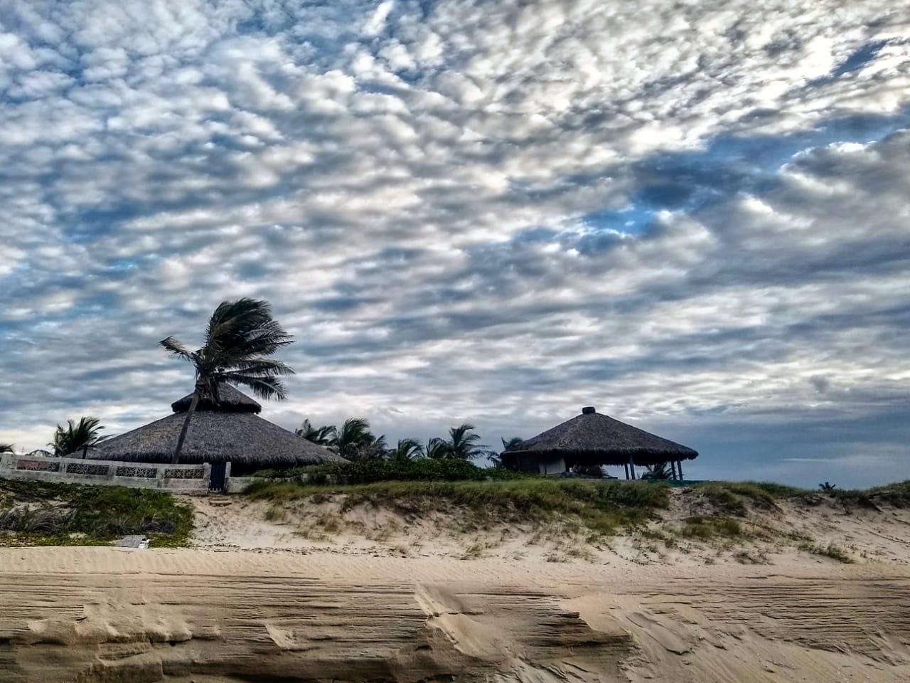 Condições de chuva para o litoral foram reduzidas (FOTO: Lilyan Lima)