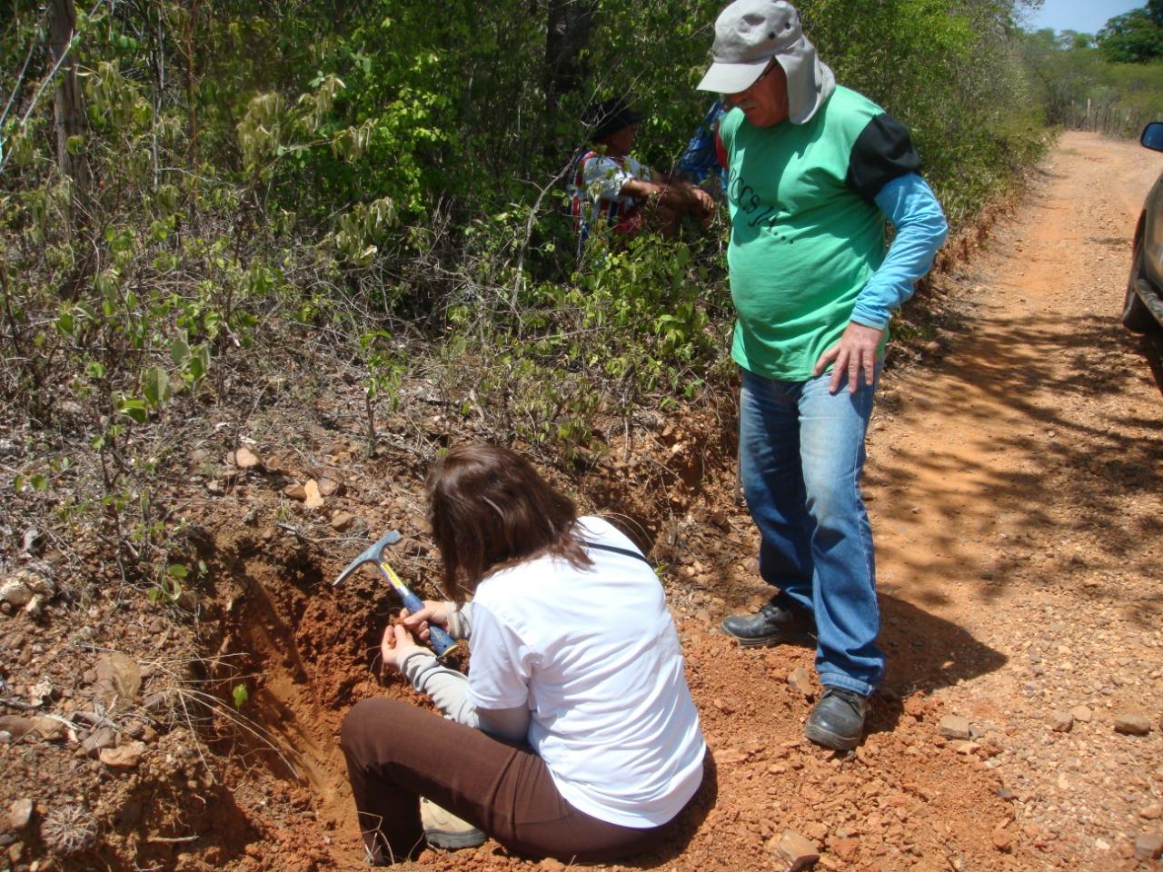Equipe de Meio Ambiente em campo (FOTO: Funceme/Divulgação)