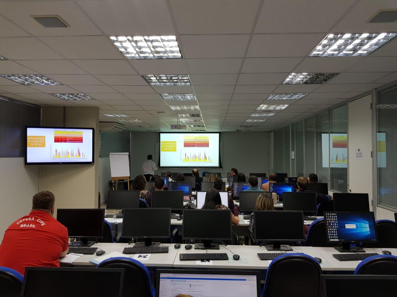 Detalhes do Monitor de Secas são apresentados em Brasília FOTO: Divulgação/ANA)