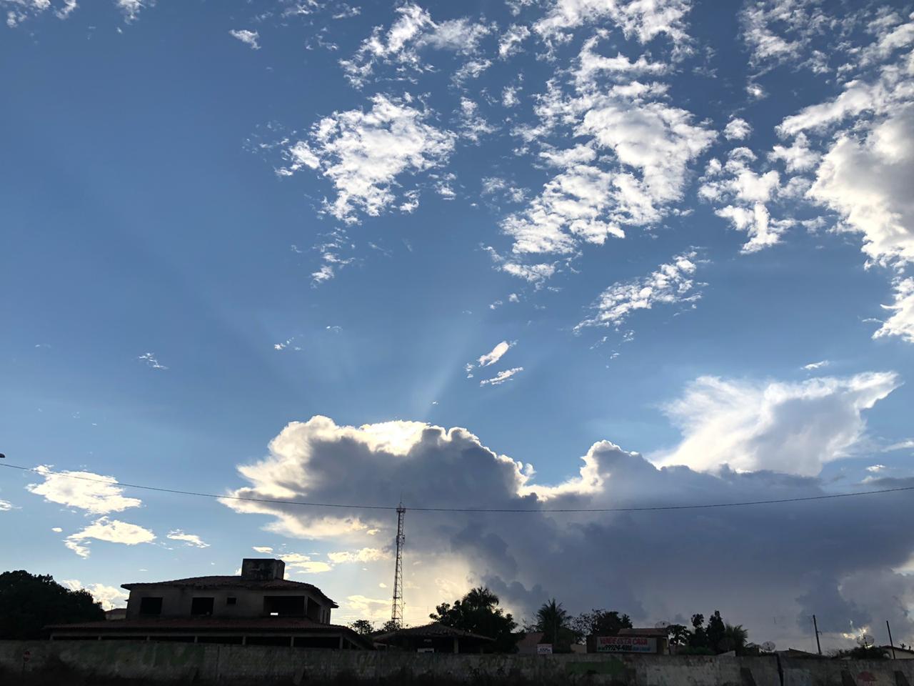 Não há cenário favorável a chuvas nestes próximos dias (FOTO: Marciel Bezerra)