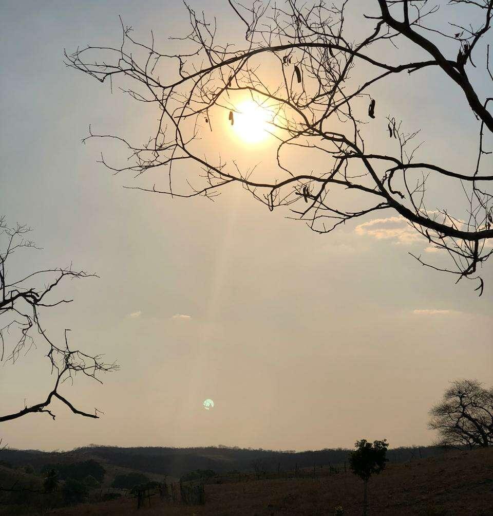 Maior parte do tempo o céu se manterá mais claro neste início de semana (FOTO: Marciel Bezerra)