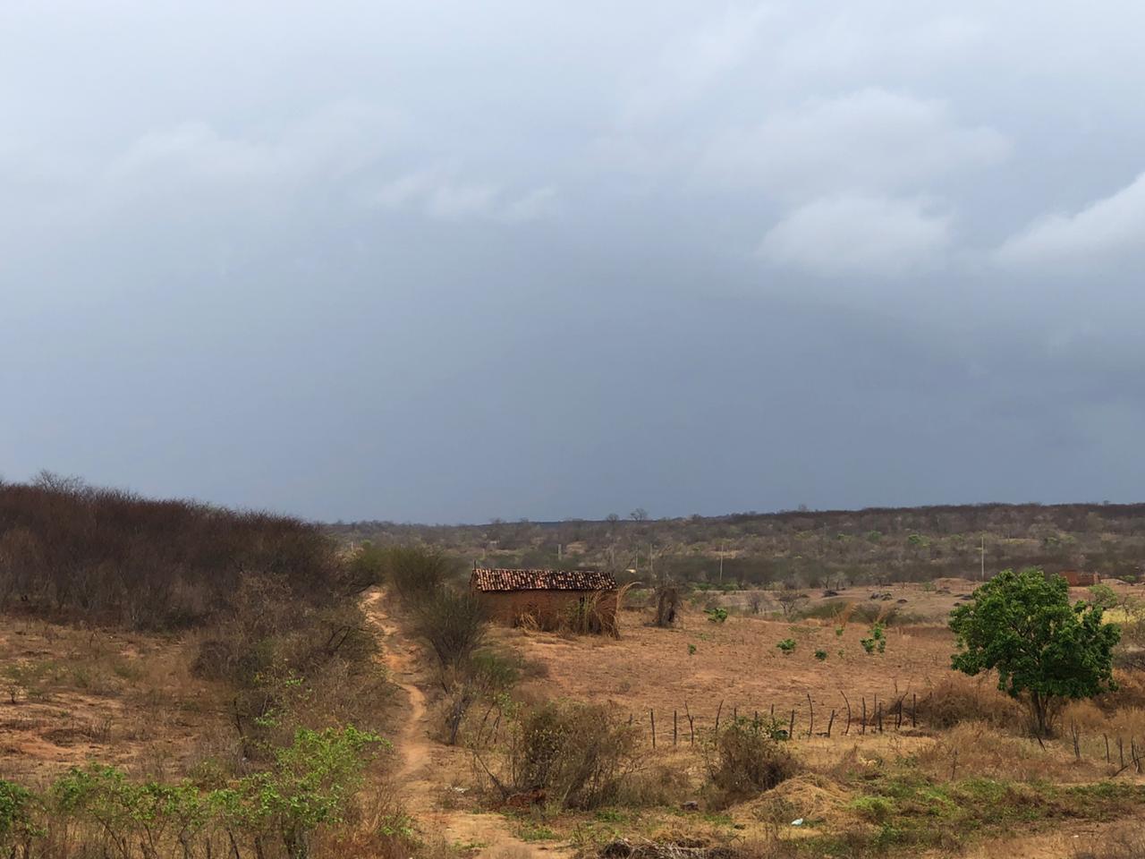 Cariri é a região que mais costuma chover entre dezembro e janeiro (FOTO: Marciel Bezerra)