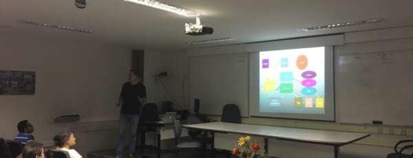 Público pode interagir com os resultados do modelo (FOTO: Funceme)