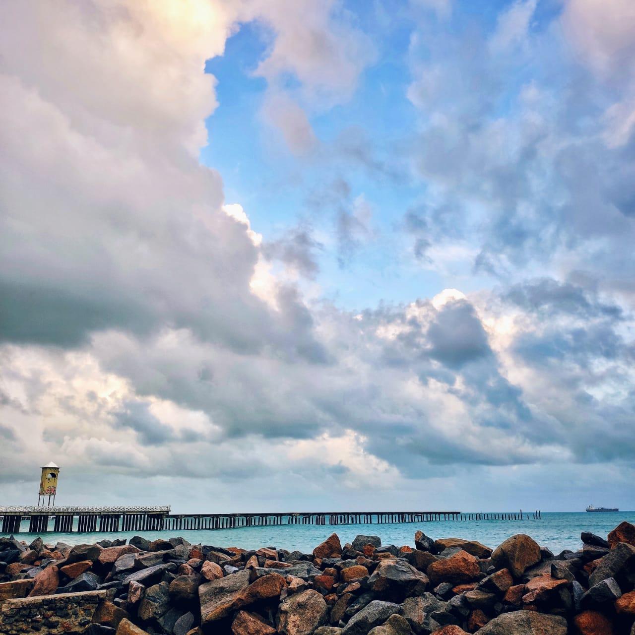Chuvas devem ocorrer no litoral entre sexta e sábado (FOTO: Kallyl Pinheiro)