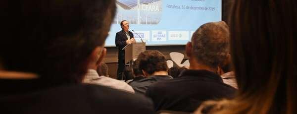 Líder nacional na exportação de aerogeradores, o Ceará é um dos destaques brasileiros em produção industrial para energia eólica (FOTO: Reprodução/Fiec)