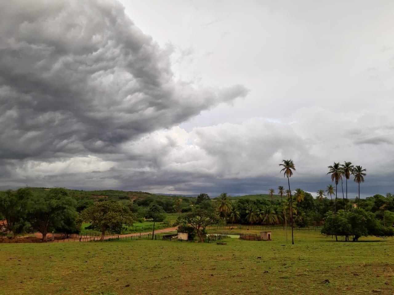 Condições atuais apontam para chances de chuva em grande parte do Estado (FOTO: Sávio Sampaio)