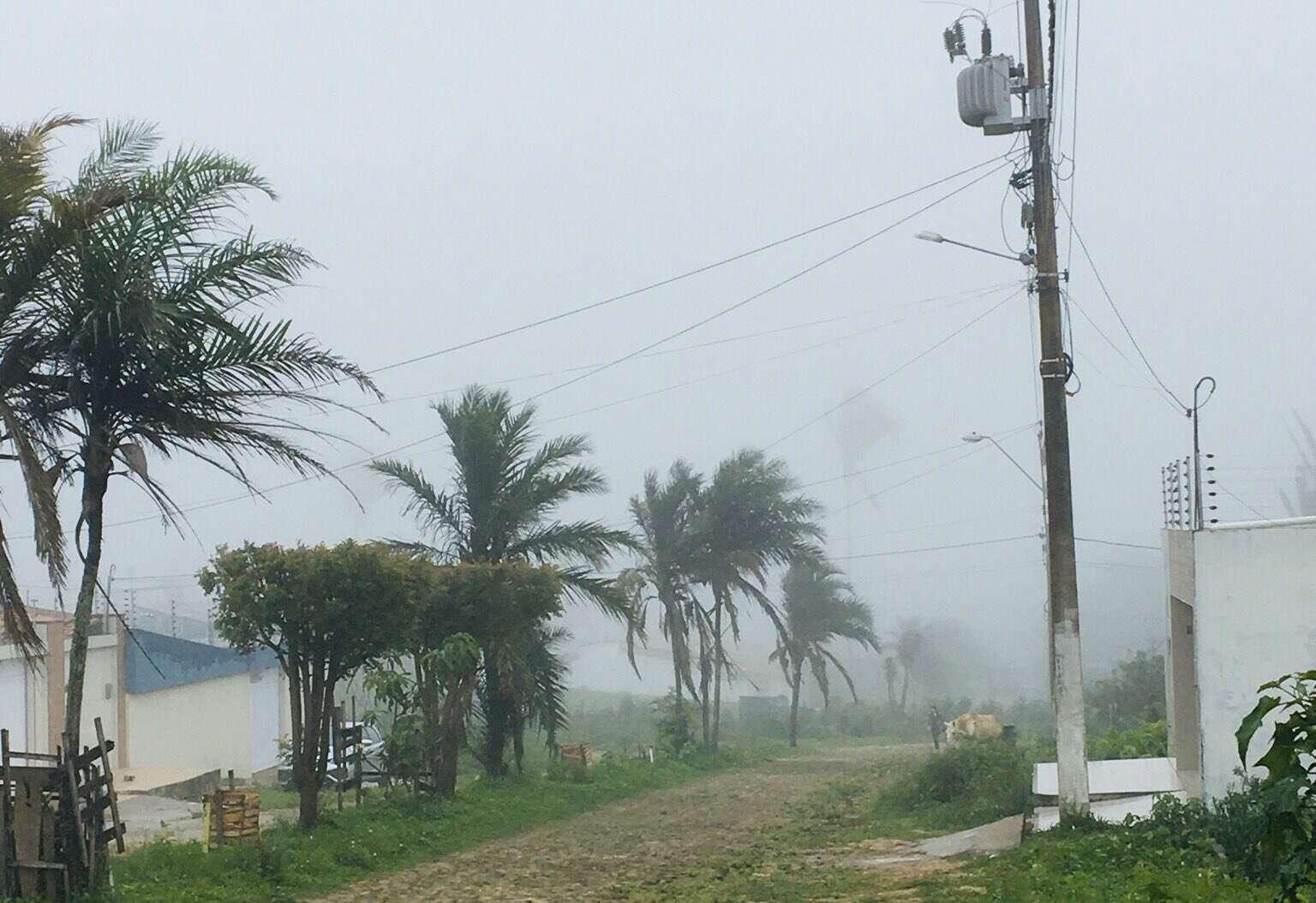 Precipitações chegaram a todas as regiões (FOTO: Carlos Henrique)