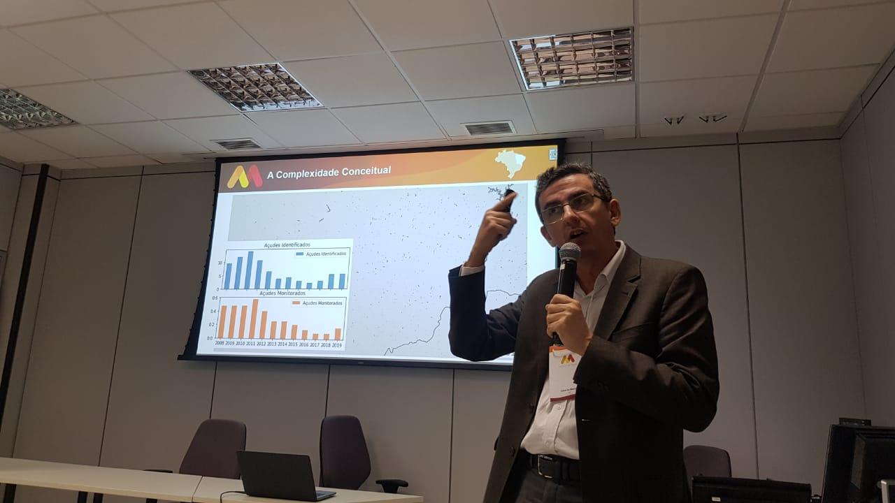 Eduardo Sávio, presidente da Funceme, participou do encontro da Capital do País (FOTO: Reprodução/Funceme)