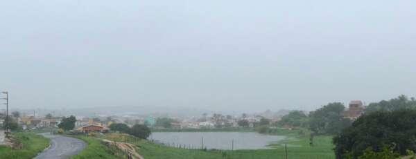 Precipitações atingiram praticamente todos os municípios do Cariri (FOTO: Marciel Bezerra)