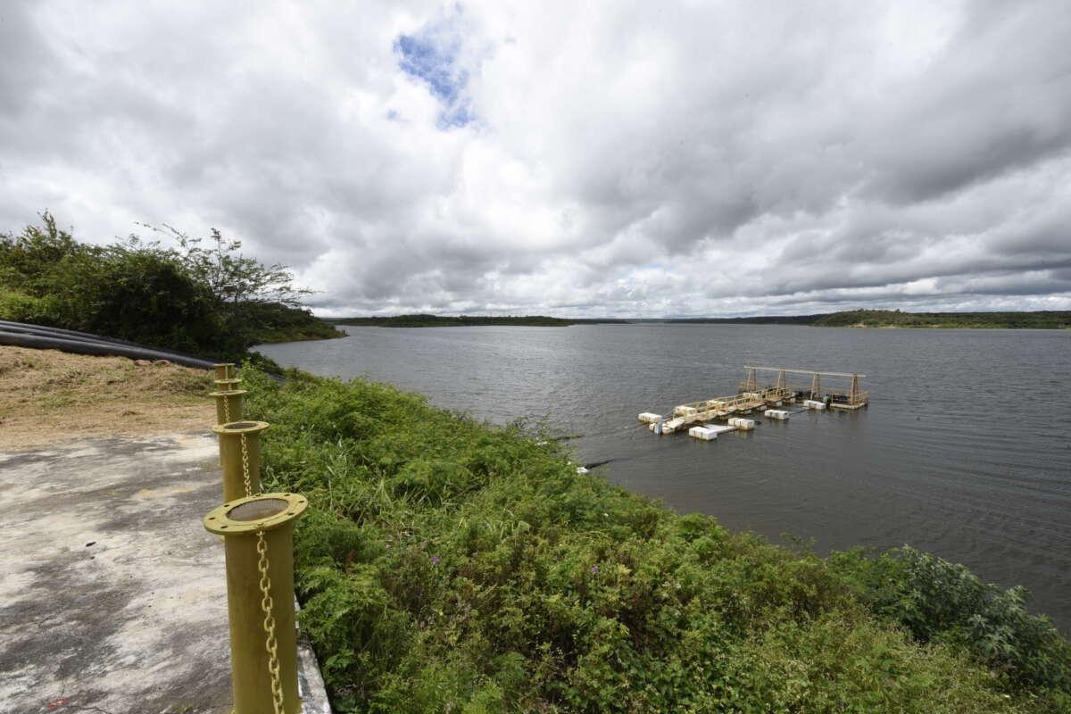O projeto teve início com estudos no reservatório Jaburu I, na bacia da Serra da Ibiapaba, iniciados ainda em 2019 (FOTO: Reprodução/Cogerh)