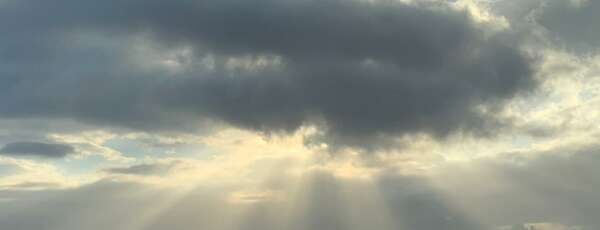 Presença de nuvens se dá pela aproximação de áreas de instabilidade (FOTO: Marciel Bezerra)