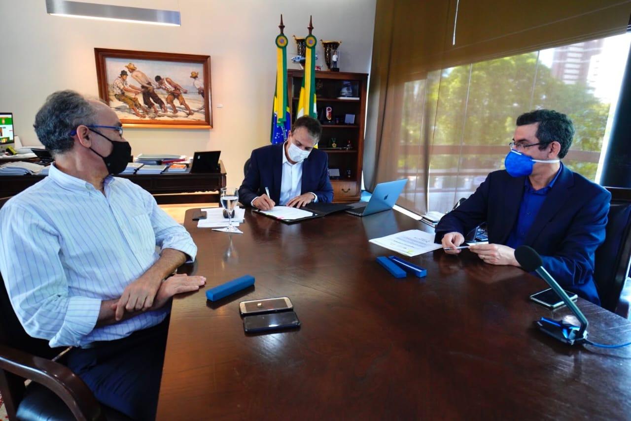 As ações serão realizadas pela Funceme em parceria com o Centro Francês de Pesquisa Agrícola para o Desenvolvimento (Cirad), que está co-financiando o projeto (FOTO: Carlos Gibaja/Governo do Ceará)