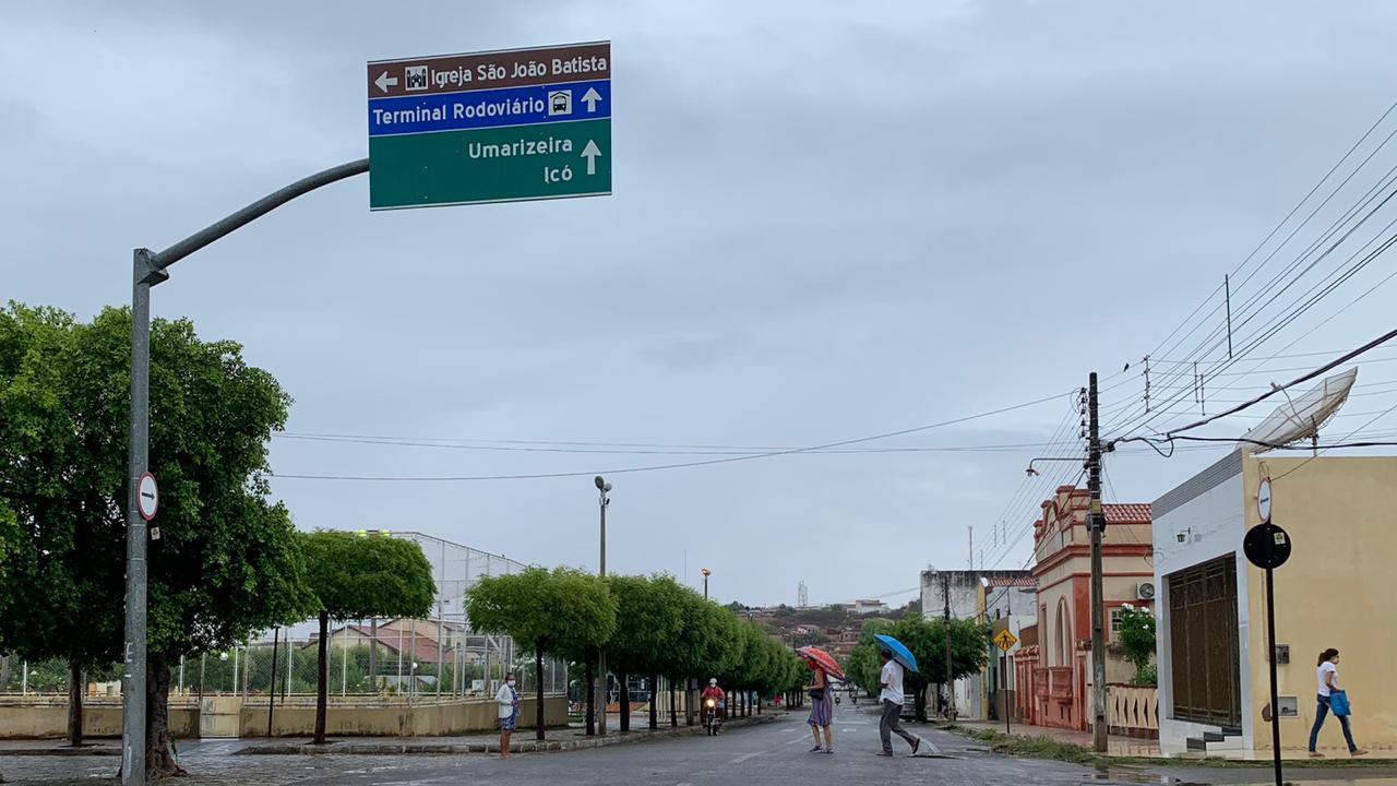 Novembro chega com precipitações em diversas regiões (FOTO: Marciel Bezerra)