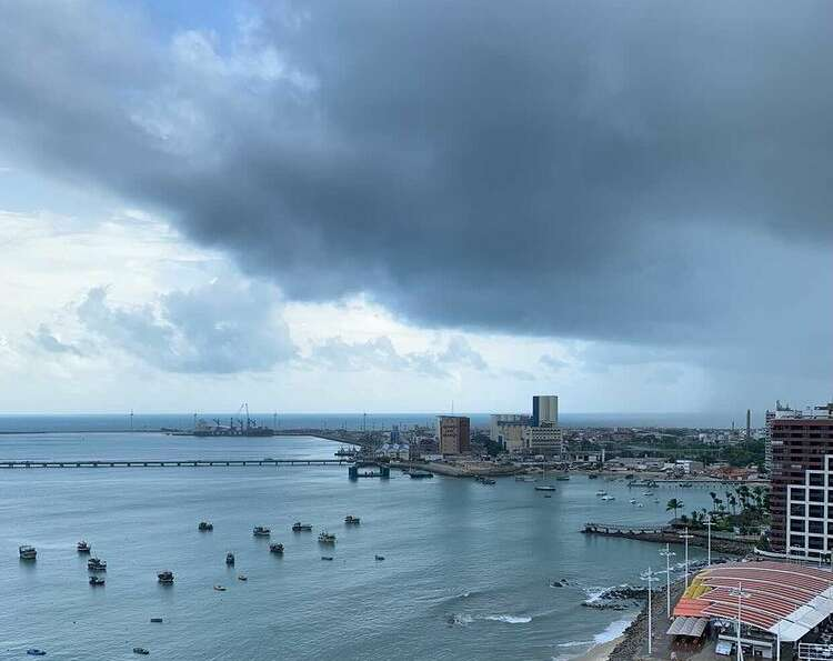 Em Fortaleza, o maior acumulado foi de 11,8 milímetros (foto: Luciana Otoch)