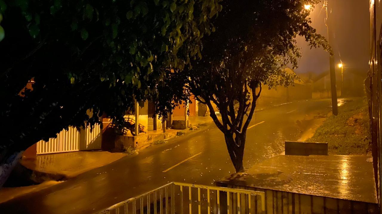 No Crato, as chuvas foram bem intensas (FOTO: Marciel Bezerra)