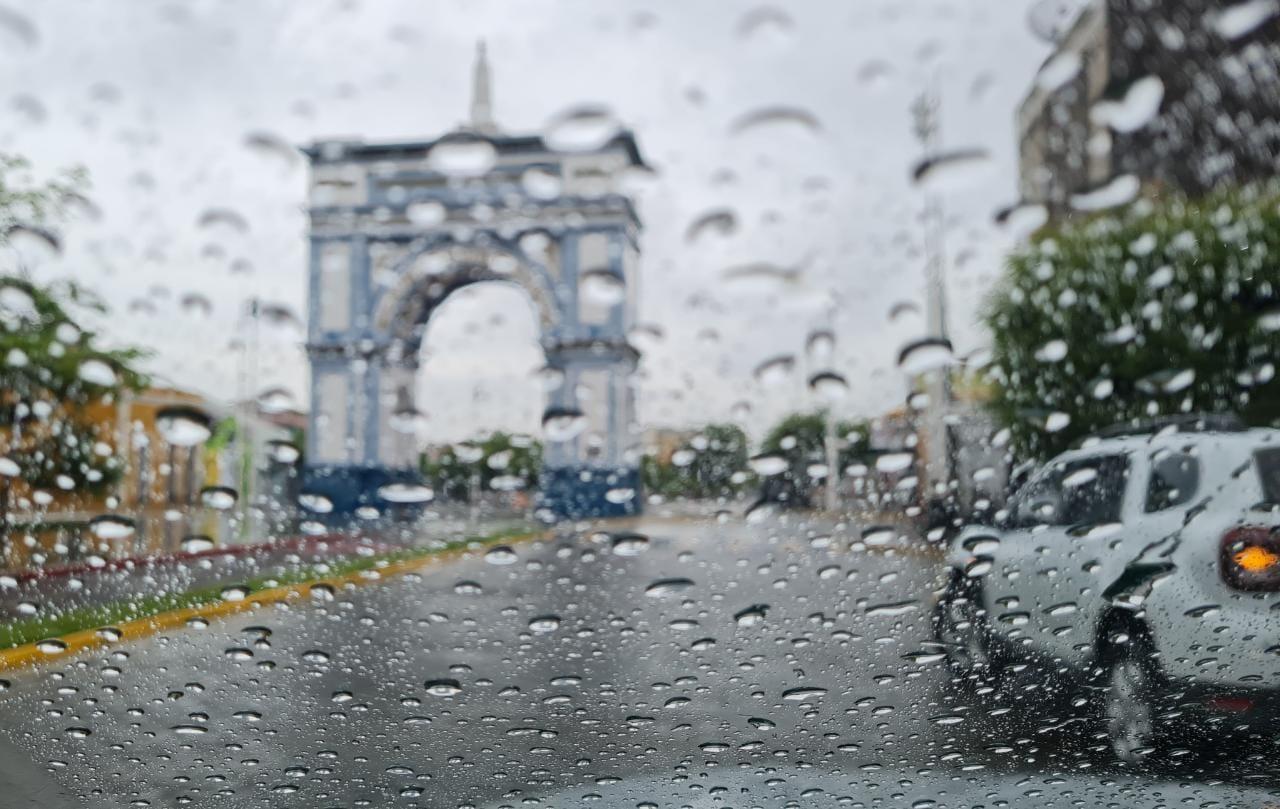 Em Sobral, a maior chuva foi de 72 mm (FOTO: Liduína Gomes)