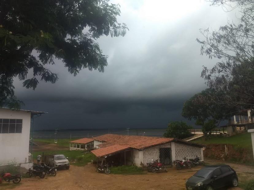 Proximidade da ZCIT favorece as precipitações (FOTO Diego Sales)