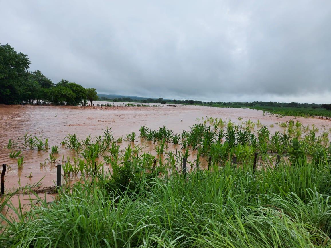 Município apresentou precipitações expressivas entre sexta e domingo (FOTO: Sávio Sampaio)