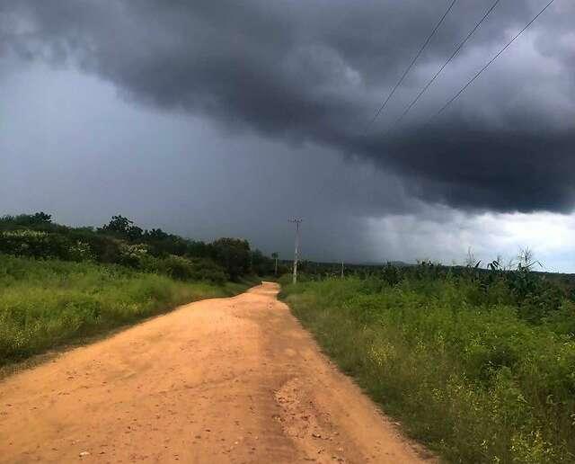 Em Ipu, as precipitações ocorreram entre noite e madrugada (Davi Freitas)