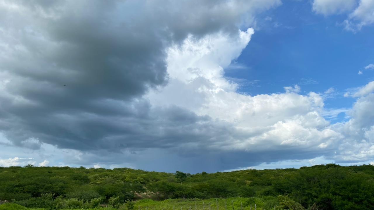 Previsão indica chuvas mais abrangentes  até a próxima quarta-feira