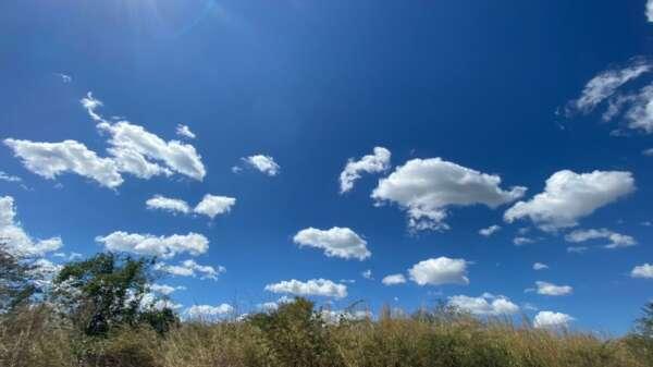 Céu deverá permanecer claro em maior parte dos dias (FOTO: Marciel Bezerra)