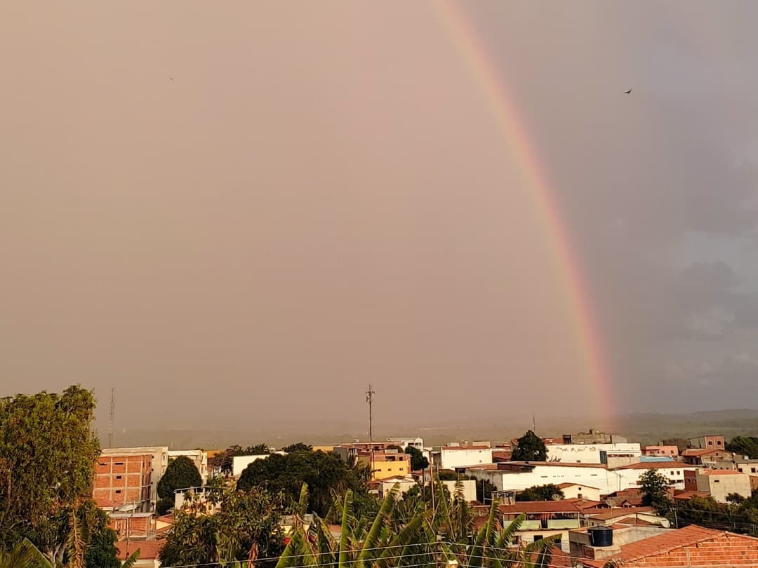 Precipitações foram associadas à atuação de áreas de instabilidade (FOTO: Instagram/Guaraciaba na Realidade)